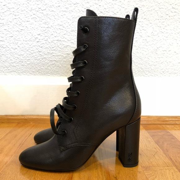 c17778451d7 Saint Laurent Shoes | New Authentic Loulou Laceup Booties | Poshmark
